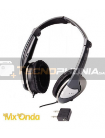 Auriculares Stereo con Reductor de Ruido MX Onda AU301C