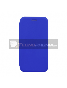 Funda libro Vennus Soft Xiaomi Mi8 Lite azul