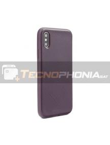 Funda TPU Goospery Lux Samsung Galaxy A50 A505 púrpura
