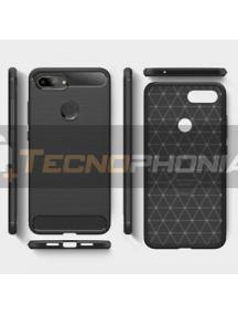 Funda TPU Carbon Xiaomi Mi 8 Lite negra