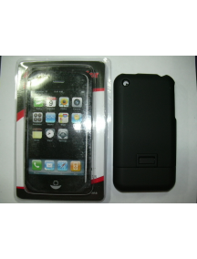 Protector de pasta Apple iPhone negro