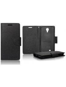 Funda Fancy Libro TPU Sony Xperia 1 Negra