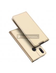 Funda libro Dux Ducis Xiaomi Redmi Note 7 dorada