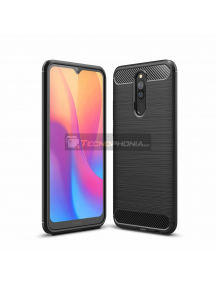Funda TPU carbon flexible Xiaomi Redmi 8A negra