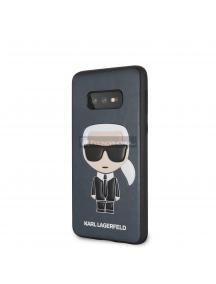 Funda TPU Karl Lagerfeld KLHCS10LIKPUBL Ikonik Samsung Galaxy S10e G970 azul