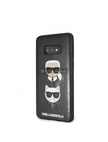 Funda TPU Karl Lagerfeld and Choupette KLHCS10LKICKCSBK Samsung Galaxy S10e G970 negra
