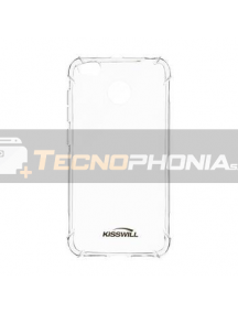 Funda TPU Kisswill Shock Xiaomi Redmi Note 8 transparente