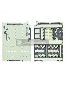 Lector de SIM + tarjeta de memoria micro Sd Samsung Galaxy A40 A405 - A20e A202