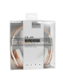 Manos libres Bluetooth GJBY CA-011 dorado