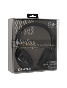Manos libres Bluetooth GJBY CA-015 negro
