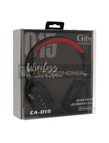 Manos libres Bluetooth GJBY CA-015 rojo