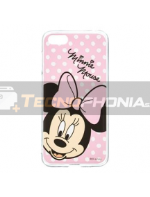 Funda TPU Disney Minnie 008 Samsung Galaxy J4 Plus J415 rosa