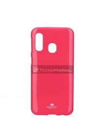 Funda TPU Goospery Samsung Galaxy A40 A405 rosa fucsia