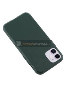 Funda TPU Goospery Lux iPhone 11 verde