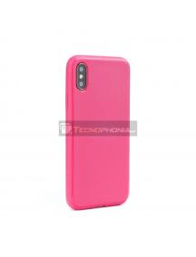 Funda TPU Goospery Lux Samsung Galaxy A50 A505 rosa