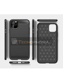 Funda TPU Forcell Carbon iPhone 11 negra