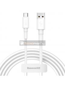 Cable Baseus CATSW-02 USB - Type-C 1m 3A blanco