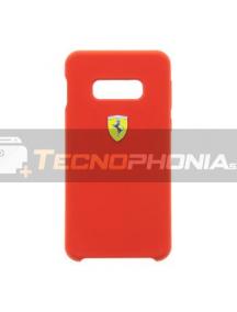 Funda TPU Ferrari FESSIHCS10LRE Ferrari SF Samsung Galaxy S10e G970 roja