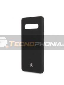 Funda de silicona TPU Mercedes MEHCS10LSILBK Samsung Galaxy S10e G970 negra
