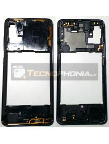 Carcasa intermedia Samsung Galaxy A51 A515 negra