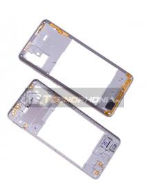 Carcasa intermedia Samsung Galaxy A51 A515 blanca