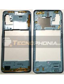 Carcasa intermedia Samsung Galaxy A51 A515 azul