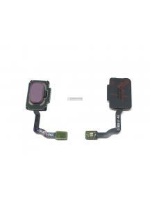 Cable flex de lector de huella Samsung Galaxy S9 Plus G965 púrpura