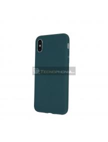 Funda TPU Matt Huawei P Smart Z - Honor 9X - Y9 Prime 2019 verde