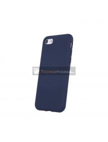 Funda TPU Silicom Motorola Moto E6 Play azul marino