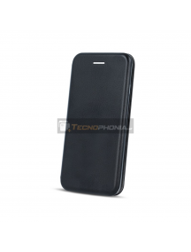 Funda Libro TPU Huawei P Smart Z - Honor 9X - Y9 Prime 2019 negra