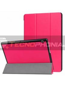 """Funda libro Tactical Huawei MediaPad T5 10"""" rosa"""