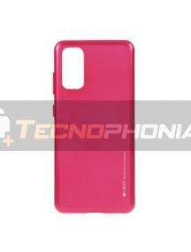 Funda TPU Goospery Samsung Galaxy S20 Plus G985 rosa fucsia