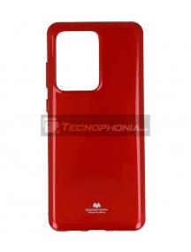 Funda TPU Goospery Samsung Galaxy S20 Ultra G988 roja