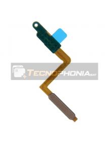 Cable flex de botón de encendido y lector de huella Samsung Galaxy A7 2018 A750 dorado
