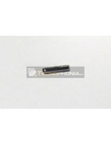 Botón de encendido externo Samsung Galaxy A71 A715 plata