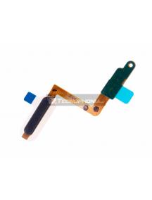 Cable flex de botón de encendido y lector de huella Samsung Galaxy A7 2018 A750 negro
