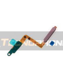 Cable flex de botón de encendido y lector de huella Samsung Galaxy A7 2018 A750 rosa