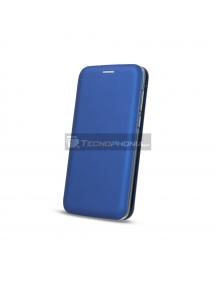 Funda Libro TPU Smart Diva LG K50 - Q60 azul