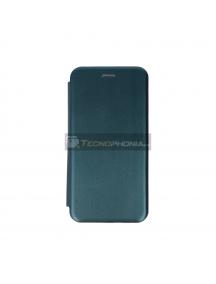 Funda Libro TPU Smart Diva Samsung Galaxy S20 Ultra G988 verde
