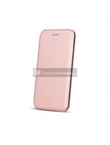 Funda Libro TPU Smart Diva Samsung Galaxy S20 Ultra G988 rosa