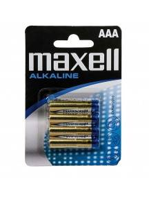Pila Maxell LR03 AAA Mn2400 Alkaline 4 Unidades