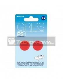Grips Woxter para mando PlayStation PS4 - PS3 - XBox 360 rojo
