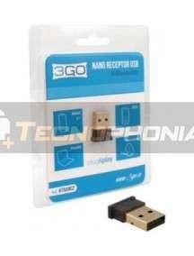 Adaptador Bluetooth USB 3Go Btnano2 V4.0 alcance 30m