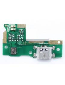 Placa de conector de carga Huawei Y6 Pro 2017