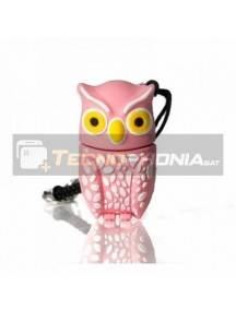 Memoria USB Tech One Tech 16GB BUHO PLUMI PINK