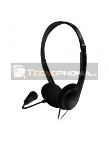 Auriculares con micrófono 1Life Sound One Jack 3.5mm negro