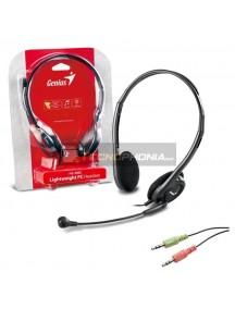 Auricular con micrófono GeniusHS-200C negro