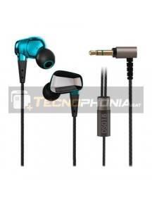 Manos libres VINSIC Premium In-Ear 3,5mm plata