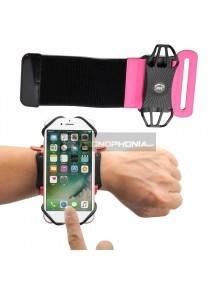 """Funda brazalete universal 6"""" sport para antebrazo rosa"""