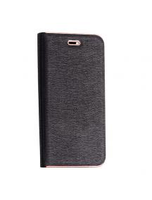 Funda libro Vennus Xiaomi Redmi 5 Plus - Note 5 negra